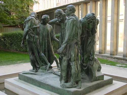 Monument to the Burghers of Calais (1889)   by rjhuttondfw
