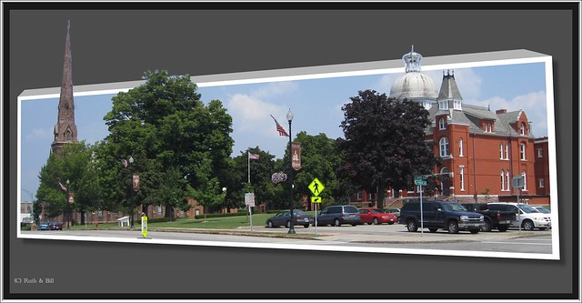 Albion NY ~ Orleans County Courthouse Historic District