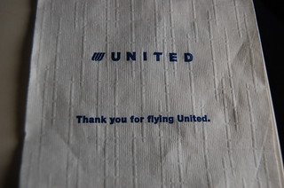 We flew united, obviously :p | by Shoreline