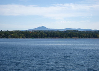 Camel's Hump from Lake Champlain | by found_drama
