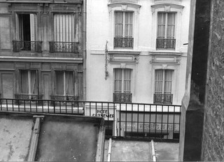 View from my hotel, Paris, 1967