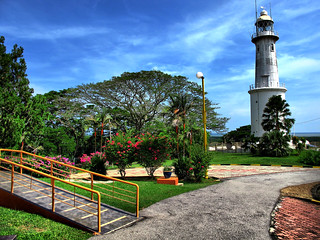The Altingsburg lighthouse in living color, Kuala Selangor | by stratman² (Joey's finally home)