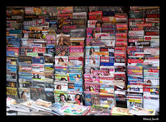 Magazine stand   by Mannobhai
