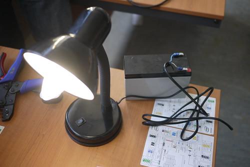 Solar Lamp | by aleutia