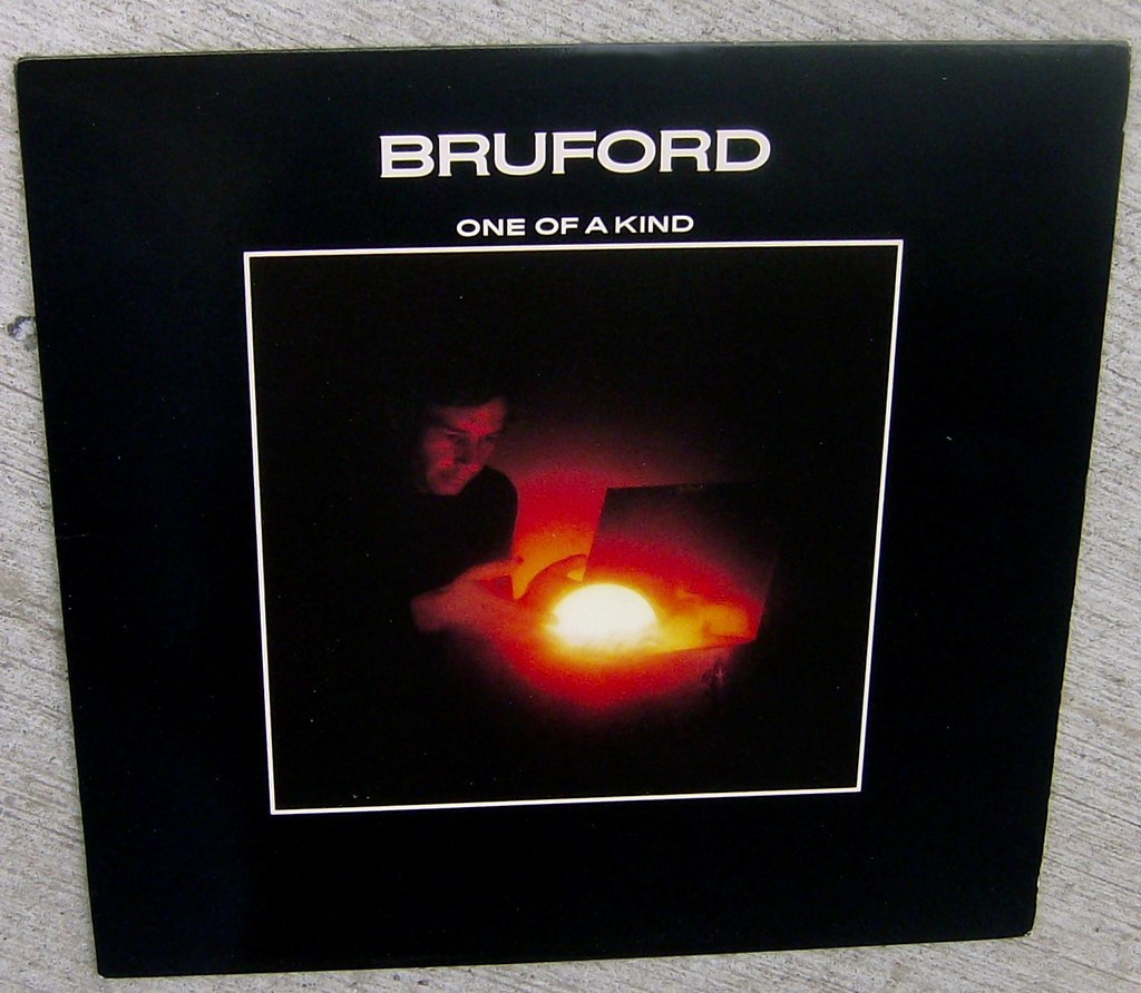 Bill Bruford One Of A Kind Artist Bill Bruford Title O Flickr