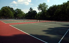 Atlanta Tennis Courts Shady Valley | by Fitness With Jeff Atlanta