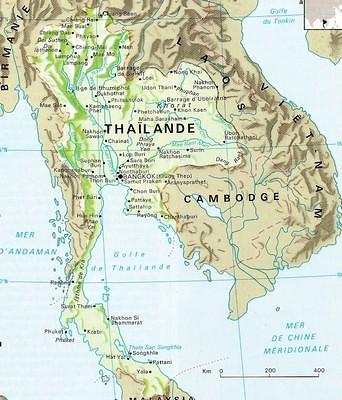 Mer Thailande Carte.Carte Thailande Adams43360 Flickr