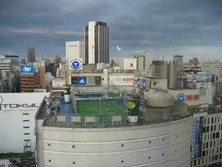 Rooftop Football Shibuya | by Jumping Jellyfish