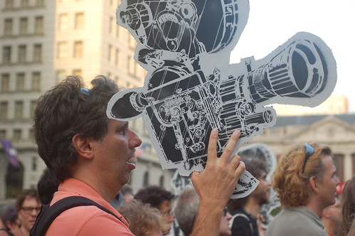 camera man @ union square rally | by bsing