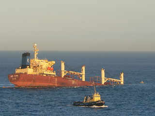 New Flame, sinking off Gibraltar   by amateur_photo_bore
