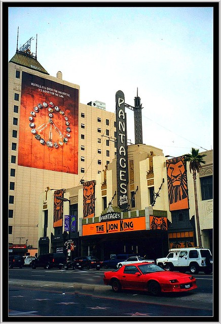 Pantages Theatre Hollywood ~ Los Angeles, CA.