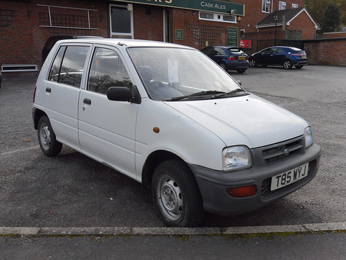 1999 Perodua Nippa EX For Sale, £750.  Showing as untaxed