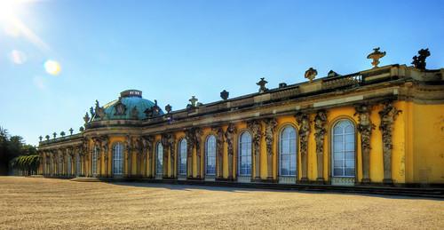 Potsdam Schloss Sanssouci | by Wolfgang Staudt