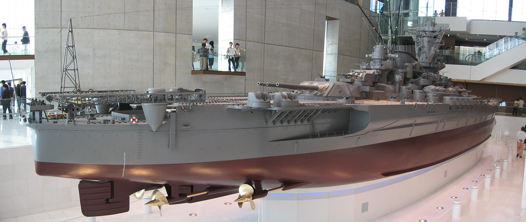 Yamato 1/10 model | Yamato, the biggest battleship to ever b… | Flickr
