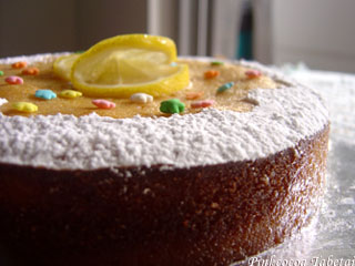 Old-Fashioned Lemon Tea Cake