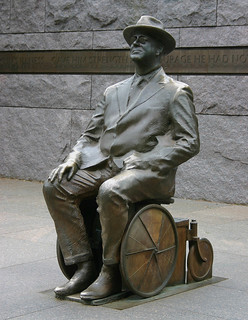 Added statue of FDR at his memorial | by dbking
