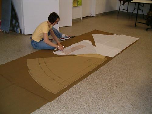 cutting the cloak