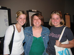 Emily, me and Liz