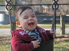 swinging Luke