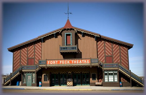 Fort Peck Theater | by Diddymzl