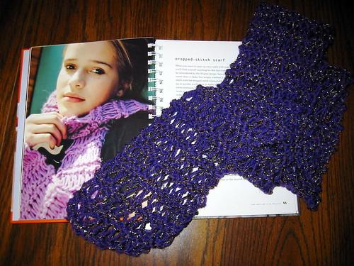 Dropped-stitch_scarf
