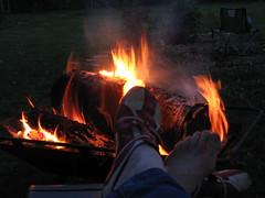 Campfire bliss