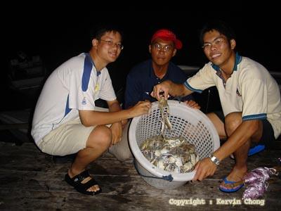 Crabbing01