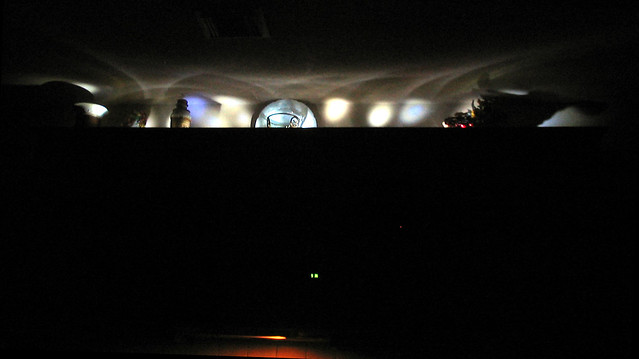 LED Lightbar Project: Night View