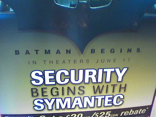 Batman and Symantec? | by Jagger