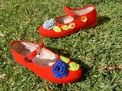 Sapatos do Capuchinho Vermelho!