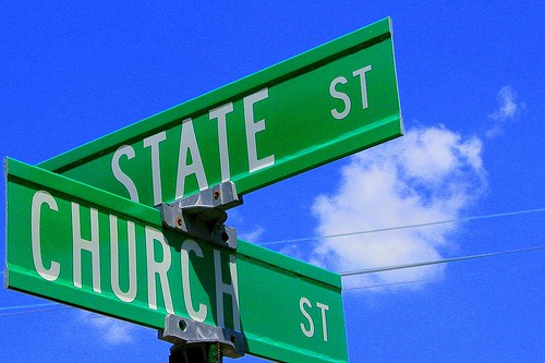 the intersection of church and state | by Ben McLeod