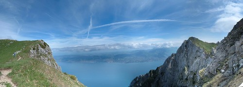 panoramic - Lac Leman depuis le Grammont
