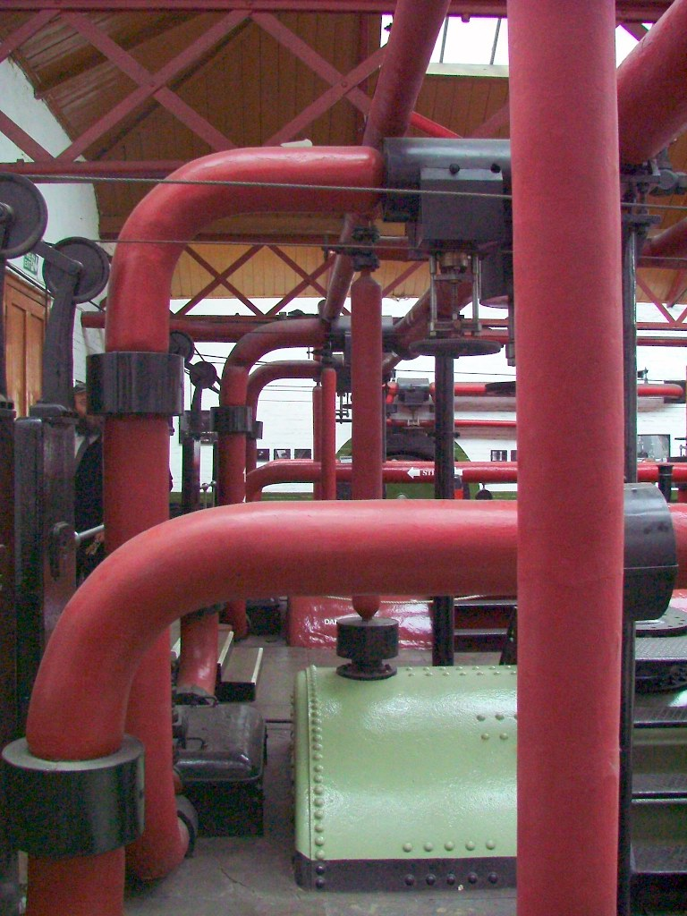 More pipes for power