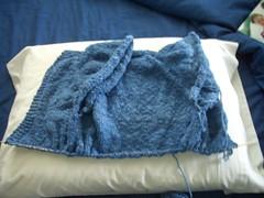 minisweater progress