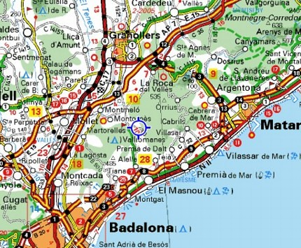 Mapa Vallromanes Maida Flickr