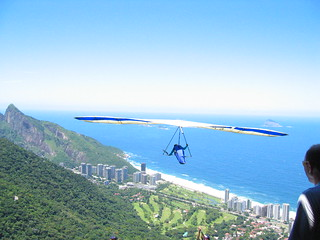 Hang gliding over Barra (CORRECTION: Sao Coronado.  Thanks Claudia!) | by jordanfischer