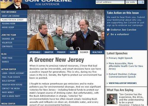 Corzine Green