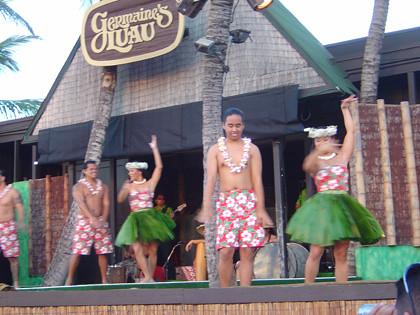 Germaine's Luau Dancers