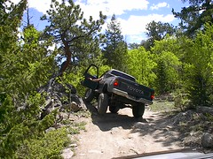 Off Roading in a Jeep