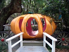 Pumpkin Carriage At Story Land