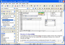 OpenOffice Writer screenshot