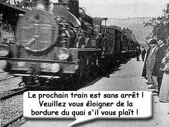 Ce train est sans arrêt mon Capitaine !