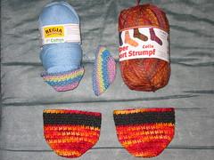 Toe Socks & Yarn