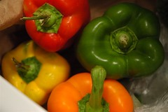 Four-colour peppers