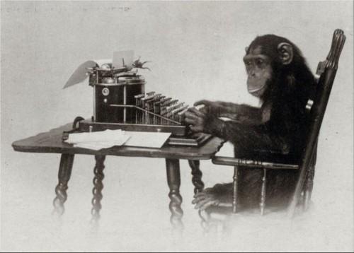 Monkey writer