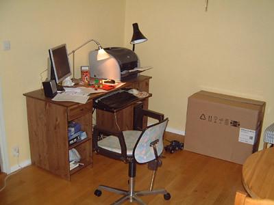 Datorn har bytt plats.