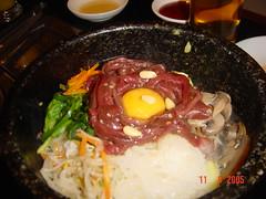 Raw Beef Bim Bap
