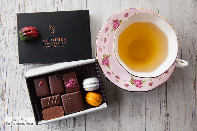 Chocolates at home