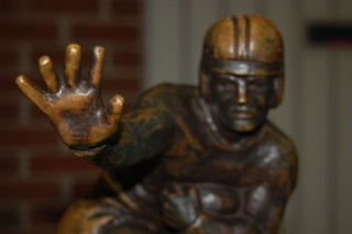 Heisman closeup | by RandomConnections