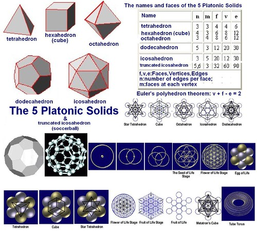5 PLATONIC SOLIDS | by MIRAHORIAN